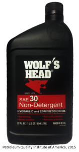 Wolfs head SAE30 ND Front Finished
