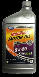 AutoZone5W20dexosFrontFinished